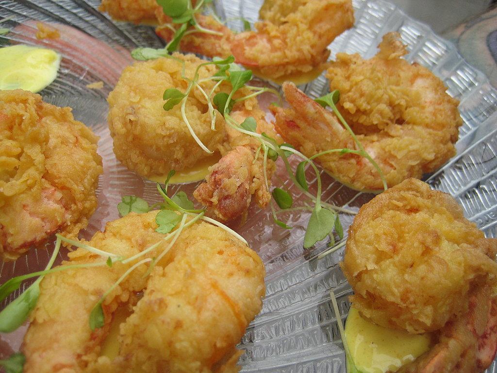 The Food: Fried Shrimp