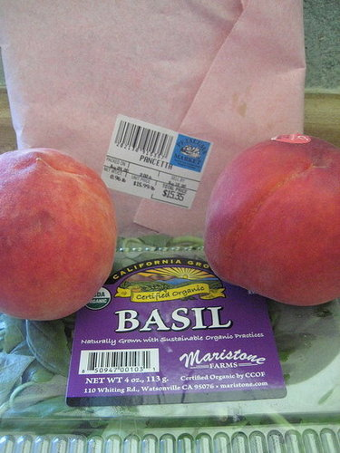 Pancetta-Wrapped Peaches