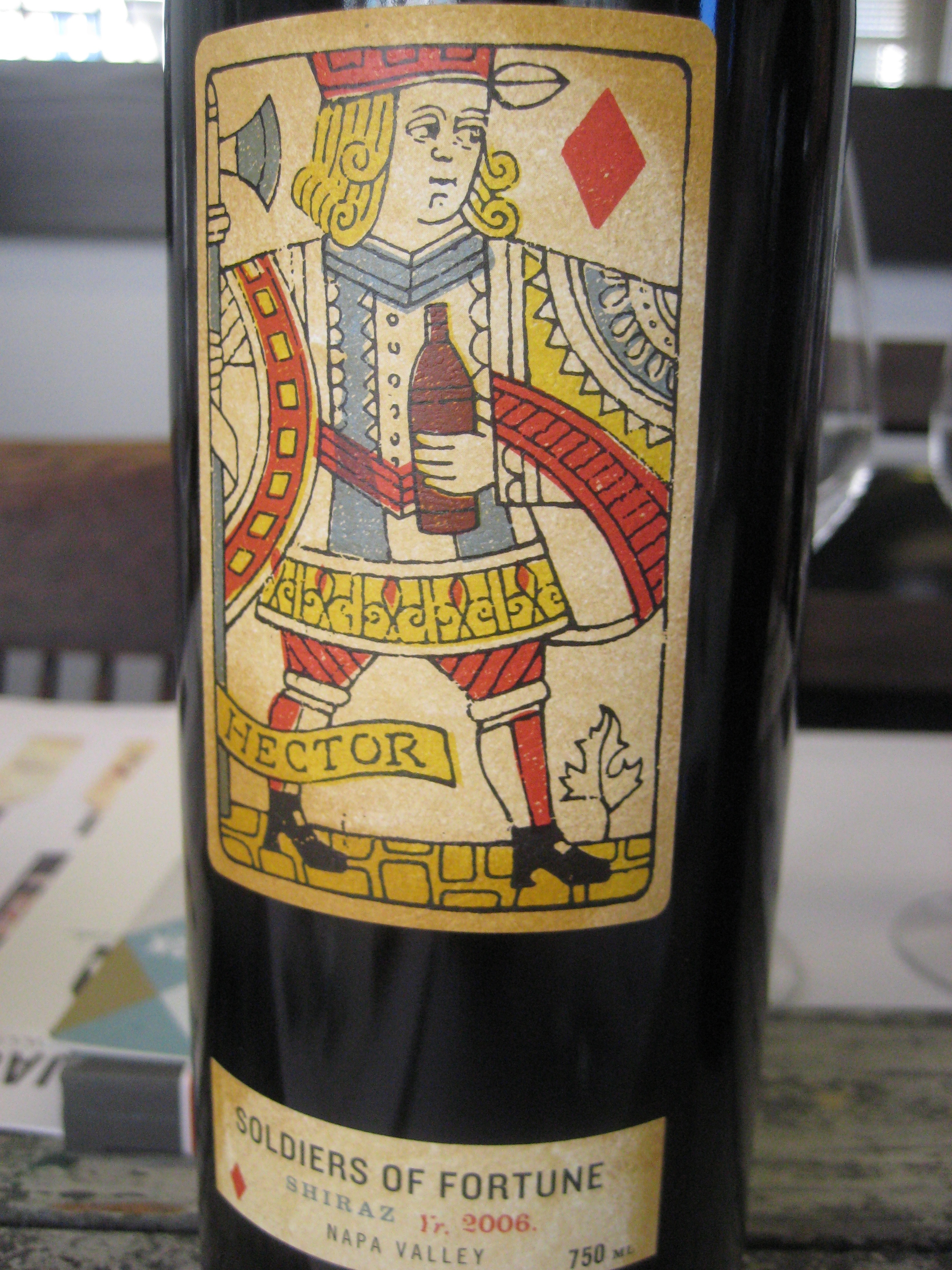 Soldiers of Fortune Shiraz.