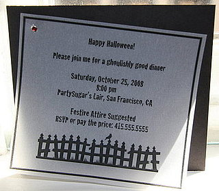 Come Party With Me: Halloween Dinner — Invite