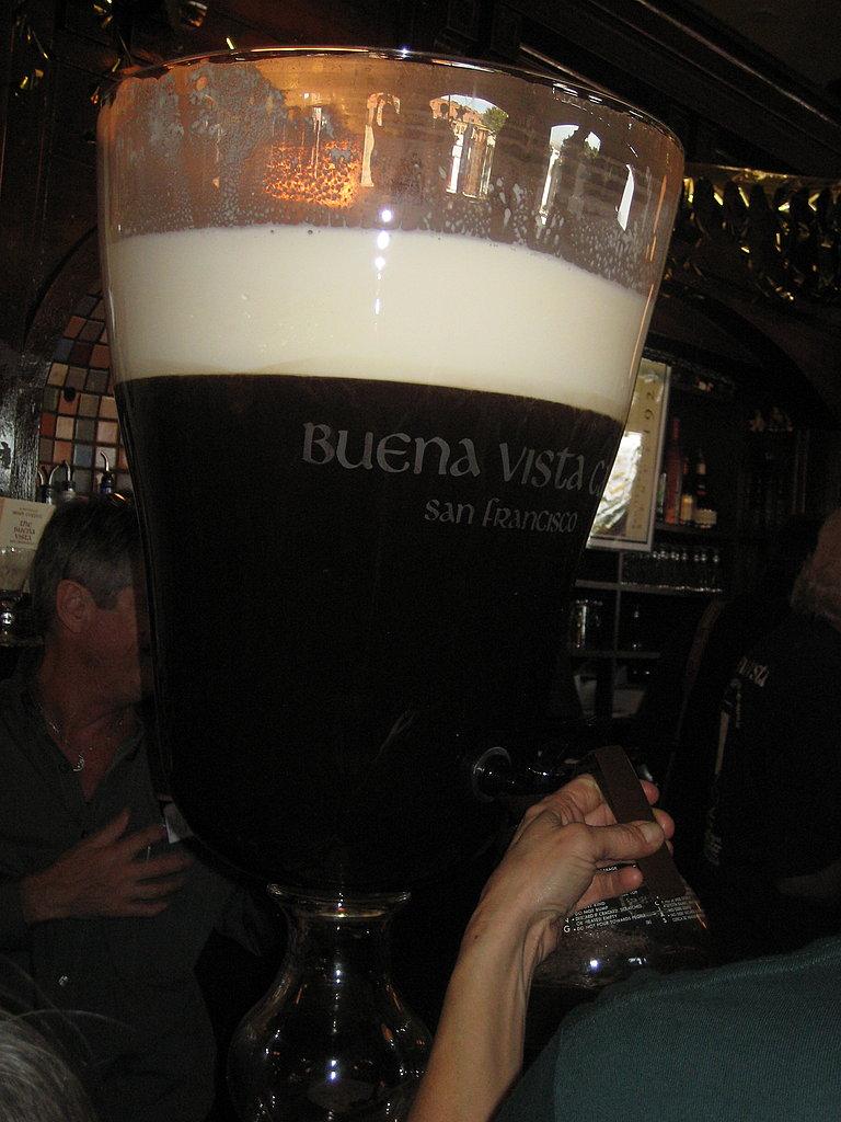 The World's Largest Irish Coffee