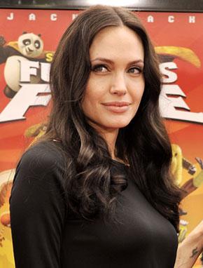 Angelina Jolie Virtually Masters Pilates