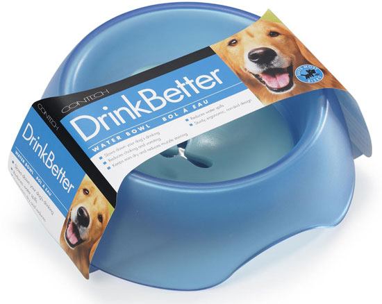 Dogs Drink Better (and Slower) With DrinkBetter Bowls