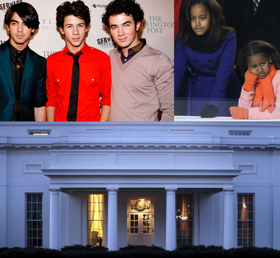 Malia and Sasha Obama Enjoy Private Jonas Brothers Concert!