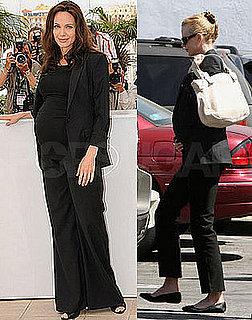 Trendtotting: Lil Black Maternity Suit