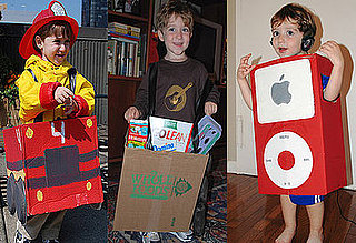 Lil's Favorite Five: Costumes Made From a Cardboard Box