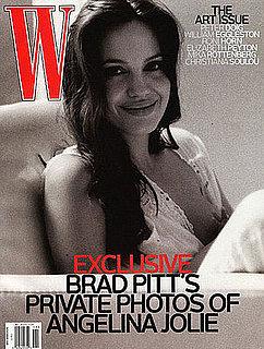 Angelina Jolie Breastfeeding on Cover of W Magazine