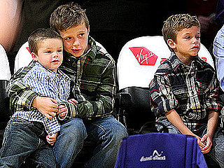 Lil Links: The Beckham Boys Showcase Their Brotherly Love