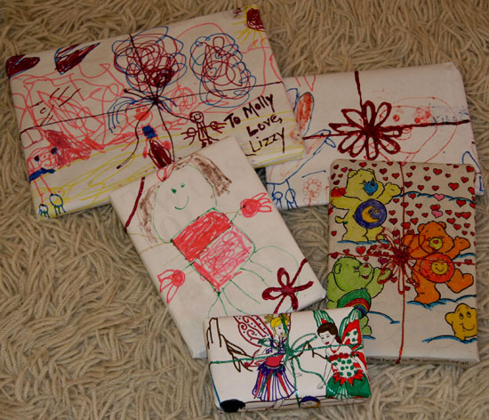 Wrap It Up: Put Your Budding Artist's Work to Good Use