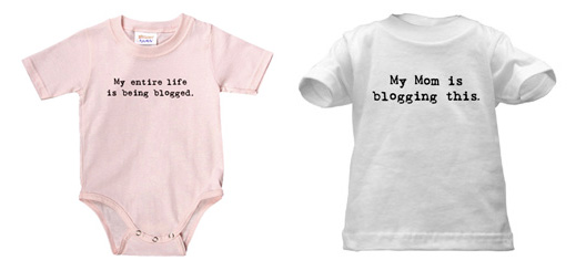 Blogging Onesies