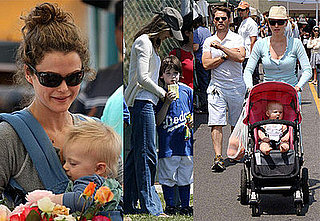 Celebrities and Their Babies Over the Weekend 2008-05-05 15:00:30