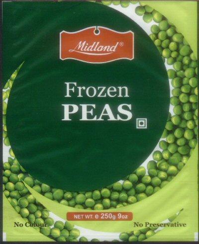 Bags of Frozen Peas
