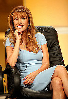 Jane Seymour Gives Angelina Pregnancy Advice
