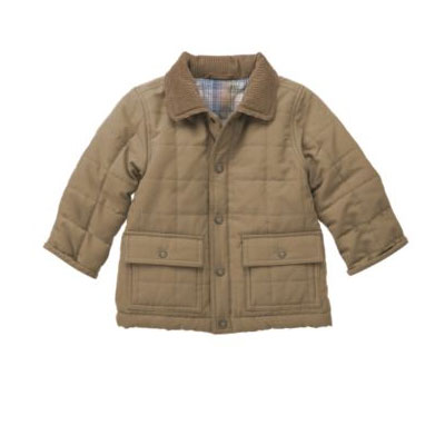 Quilted Car Coat $78
