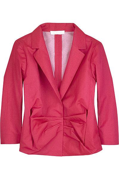 Chlo頂ow-front jacket | NET-A-PORTER.COM