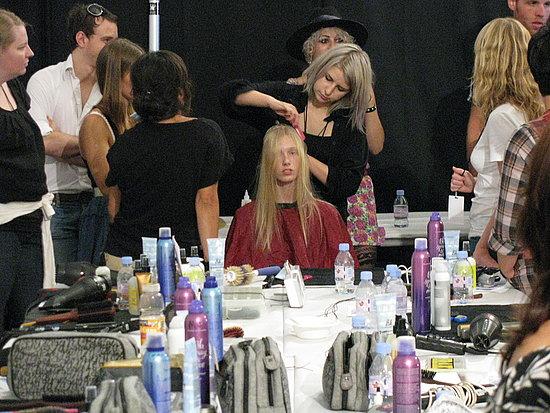 Erin Fetherston Spring/Summer 2009 Backstage