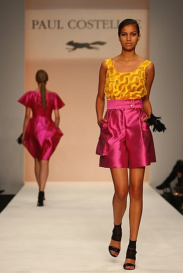 London Fashion Week Paul Costelloe Spring 2009