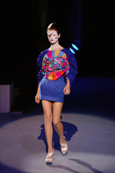 Paris Fashion Week: Manish Arora Spring 2009