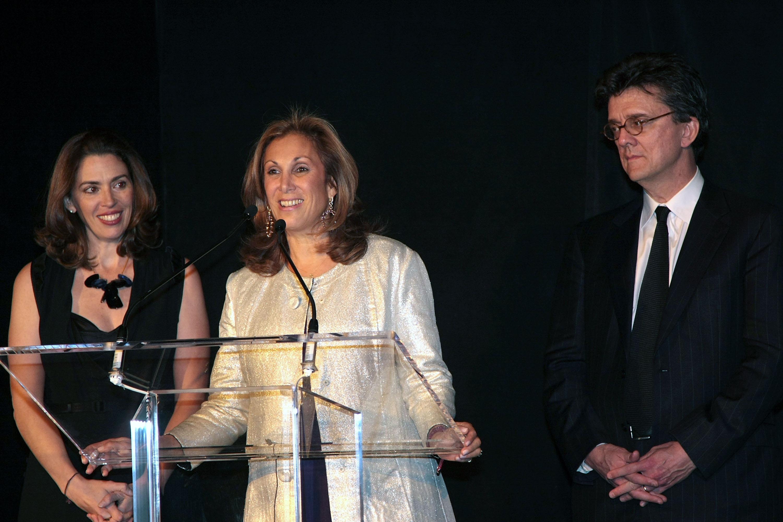 Amy Cappellazzo, Marjorie Kuhn and Kurt Anderson