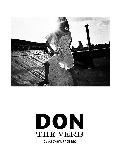 Don The Verb Spring 2009 Look Book