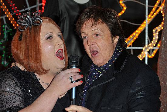 Stella McCartney Holiday Window Event