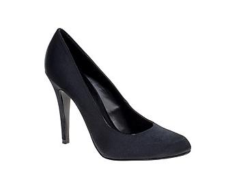 Black Satin Shoes $44.98, Aldo