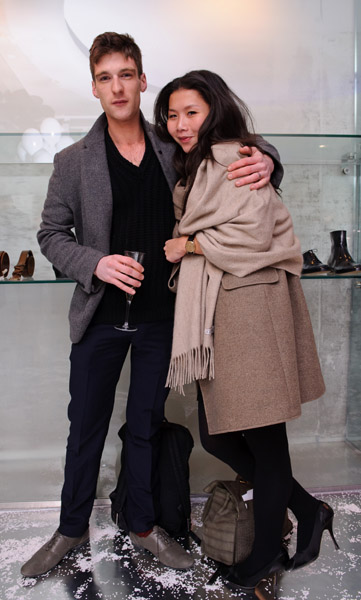 Andrew Taylor-Parr and Canzie Wu