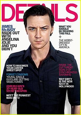 """James McAvoy - """"Details"""" August 2008"""