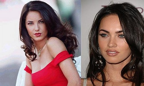 Barbara Mori and Megan Fox Seperated At Birth?