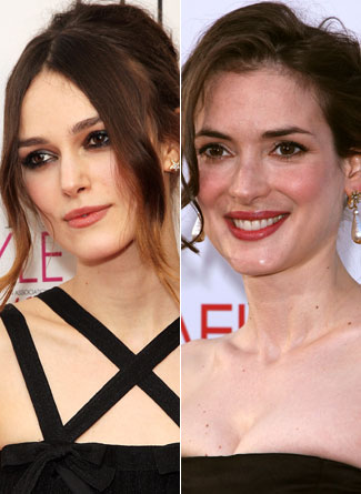 Keira and Winona? Look A Likes??