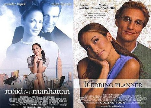 J.Lo's Maid in Manhattan VS The Wedding Planner