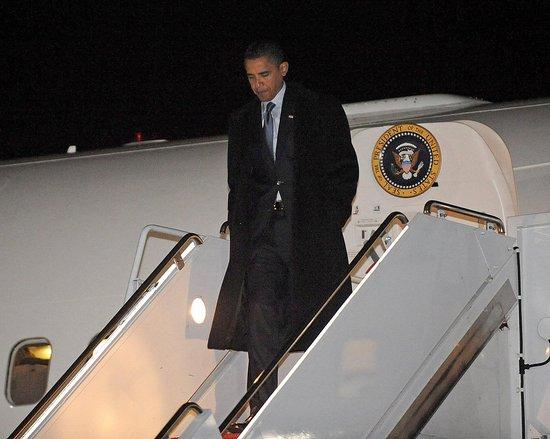 Obama Moves to Washington