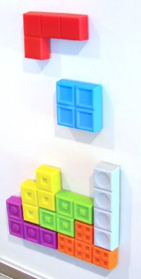 Play Tetris on your Fridge..or Wall...Or DVD Rack...