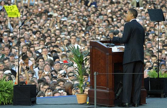 Barack Obama Speech in Germany