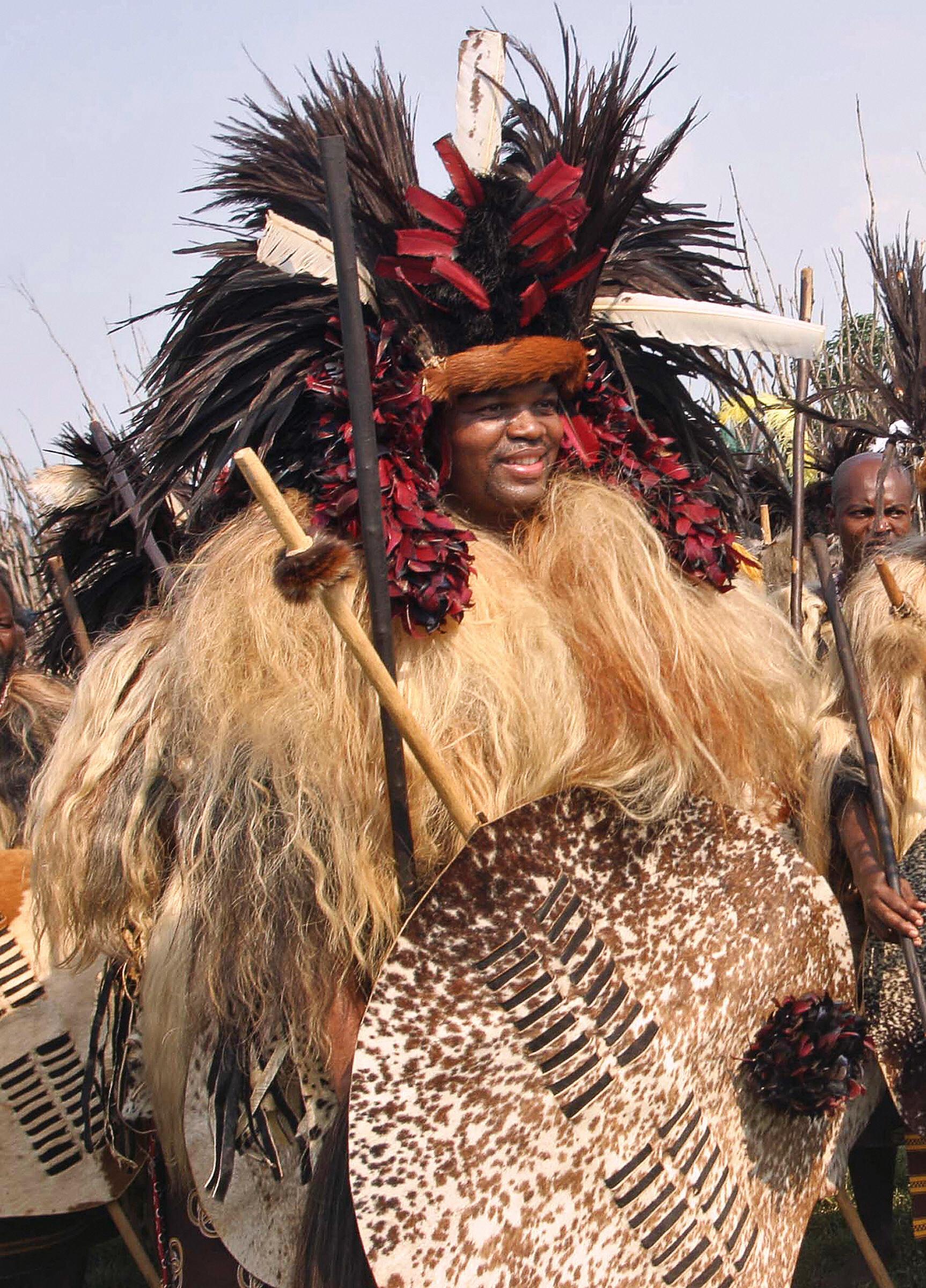 Swaziland absolute monarch Mswati III