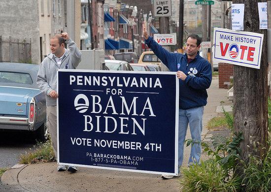 Barack Obama Takes Pennsylvania