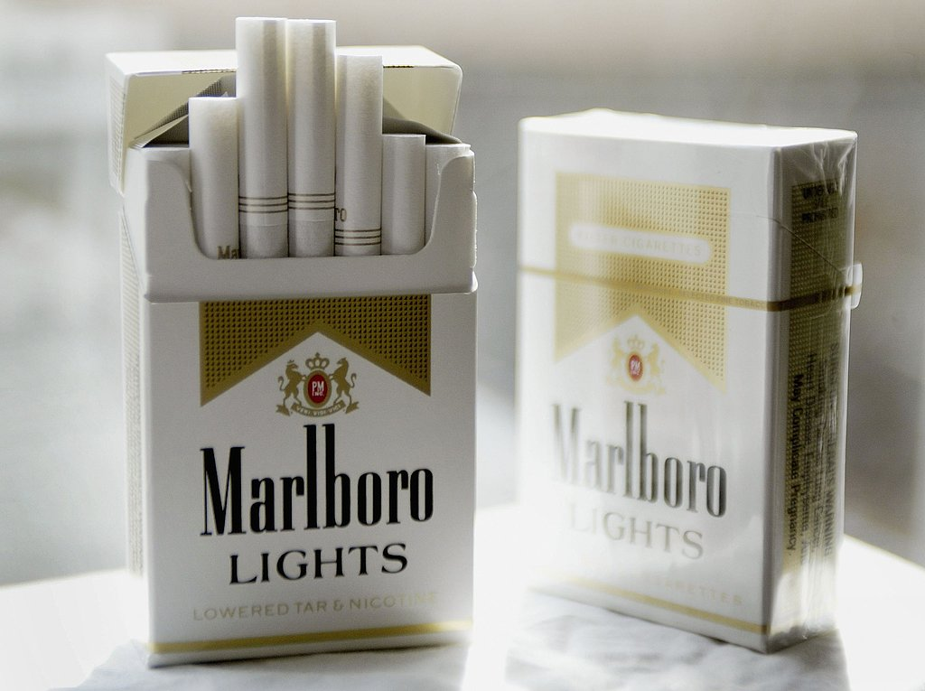 All types of Benson Hedges cigarettes