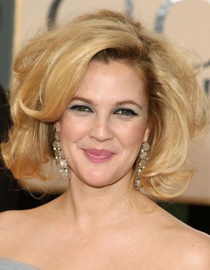 Drew Barrymore's Blond Hair