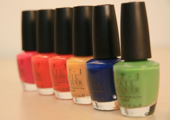 OPI Mod Brights Collection
