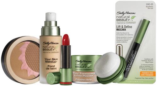 Sally Hansen and Carmindy's Natural Beauty Makeup Collection