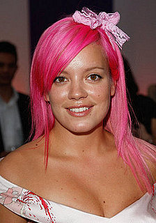 Dye your hair pink like Lily Allen with Fudge Paintbox hair dye