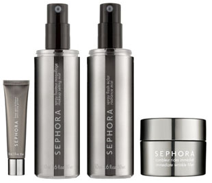Wednesday Giveaway! Sephora Brand: Anti Shine Primer, Setting Mist, Radiance Mist, and Wrinkle Filler
