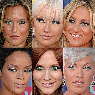 Blue Eye Makeup Trend at the 2008 VMAs