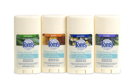 Tom's of Maine Deodorant Natural Challenge
