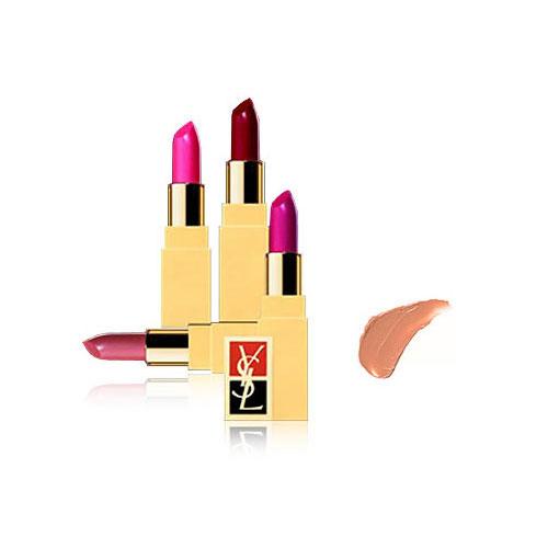 Fard À Lèvres Rouge Pur Pure Lipstick in Honey Beige ($29)