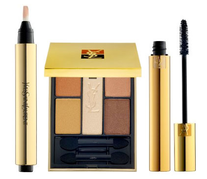 Thursday Giveaway! YSL Touche Éclat, Five Color Harmony for Eyes, and Luxurious Mascara