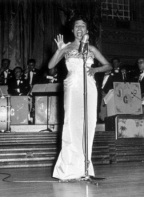 Performing in 1953.