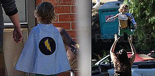 Celebaby Style:  Superhero Kingston Rossdale