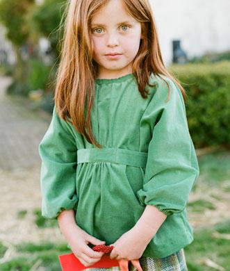 Supersize This:  Ses Petites Mains Agnys Blouse