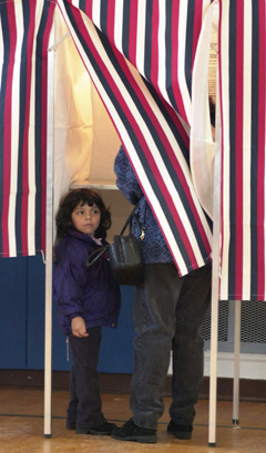 Will You Take Your Child To Vote With You?